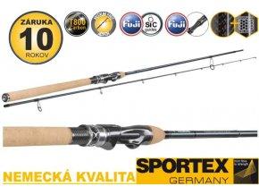 Přívlačový prut Sportex Graphenon Seatrout 2-díl