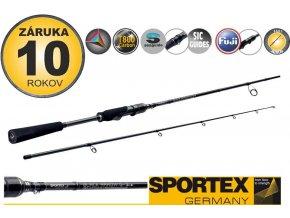 Přívlačové pruty SPORTEX Black Arrow G-3 ultra light