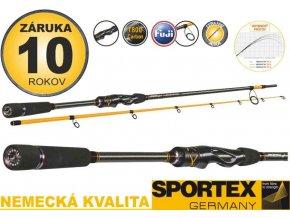 Přívlačové pruty Sportex Absolut NT 2-díl