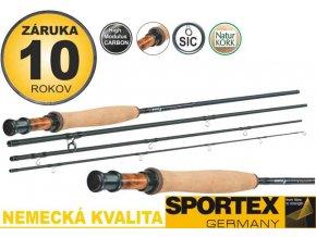 Muškařské pruty Sportex Kyan Fly 4-díl