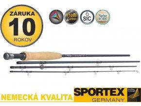 Muškařské pruty Sportex Synoris Fly 4-díl