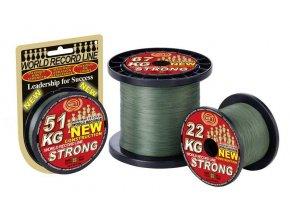 Pletená šňůra WFT KG Strong Green - zelená 0.18mm