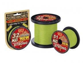 Pletená šňůra WFT KG Strong Chartreuse - zelenožlutá 0.22mm (32kg)