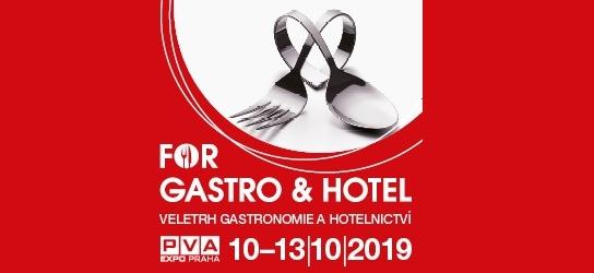 Veletrh FOR Gastro (10. - 13.10.)