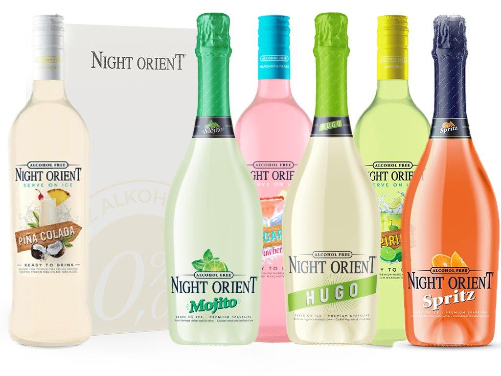 Night Orient Cocktails Ochutnávkový Set