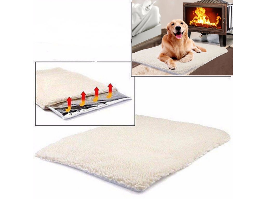 0 Pet Self heating Blanket Winter High Quality Dog Cat Warm Sleep Mattress Small Medium Dog Cat