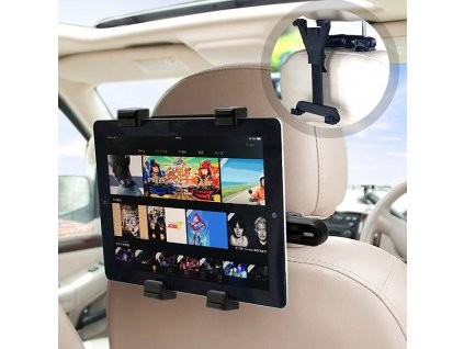 1 Universal Car Seat Back Tablet Stand Headrest Mount Holder Fastener Clip Hook for Pad Tablet PC
