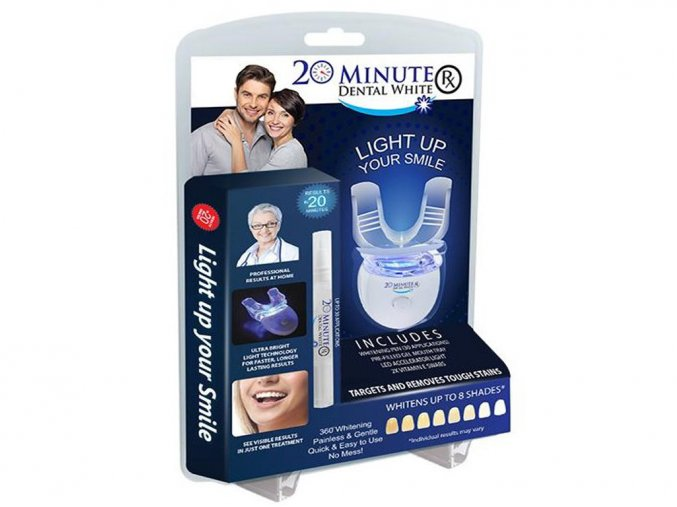 555 sada na beleni zubu 20 minute dental white