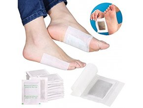 3 10pcs Detox Foot Pads Bamboo Vinegar Body Feet Care Cleansing Relieve Fatigue Foot Patches TSLM2
