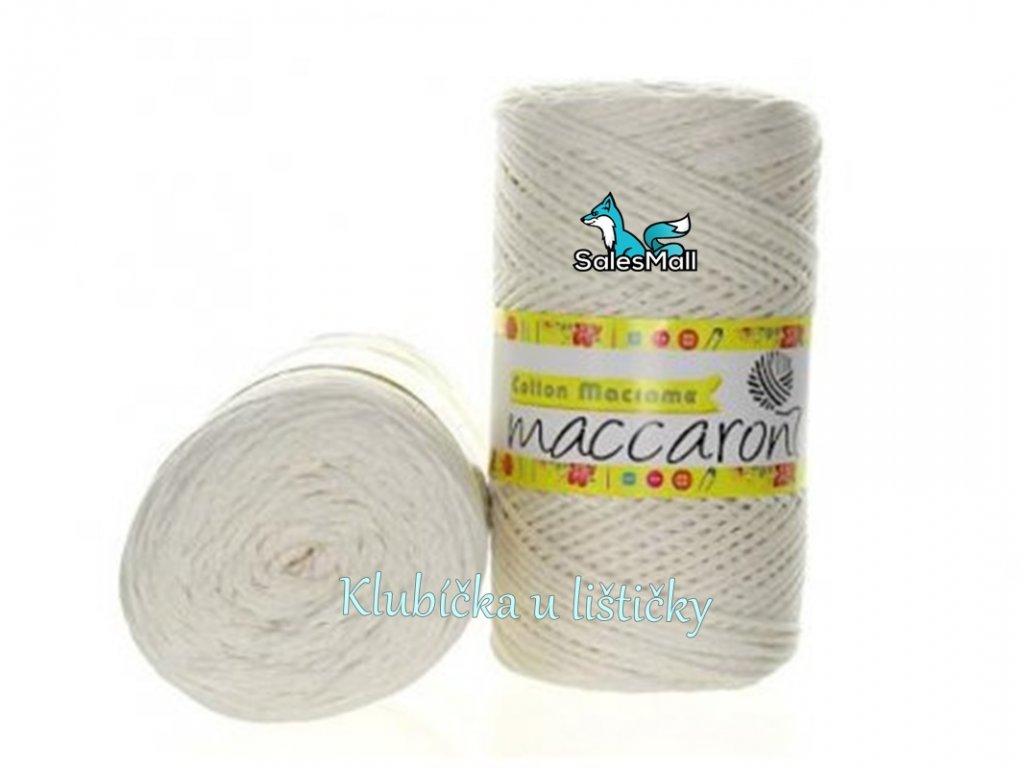 Cotton Macrame 41 - slonovinová