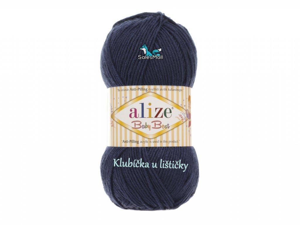 Alize Baby Best 58 - modrá mořská