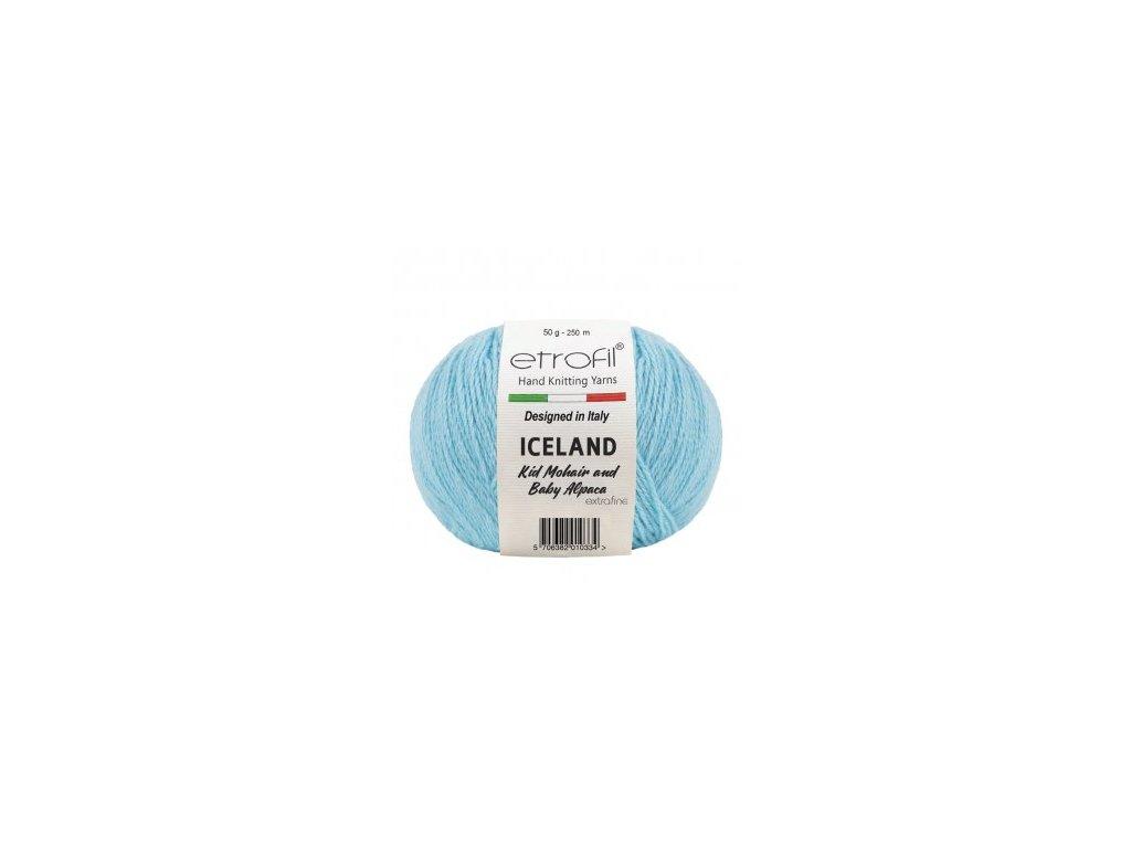 Etrofil Iceland světle modrá  BL1014