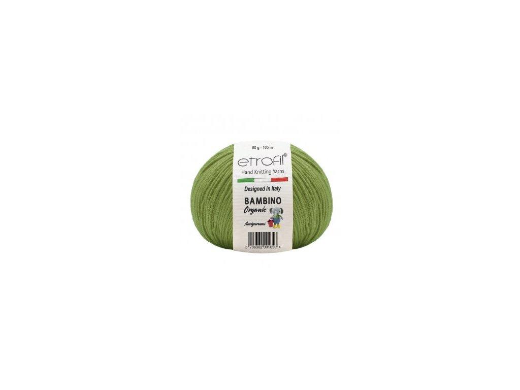 Bambino Organic trávově zelená 70405