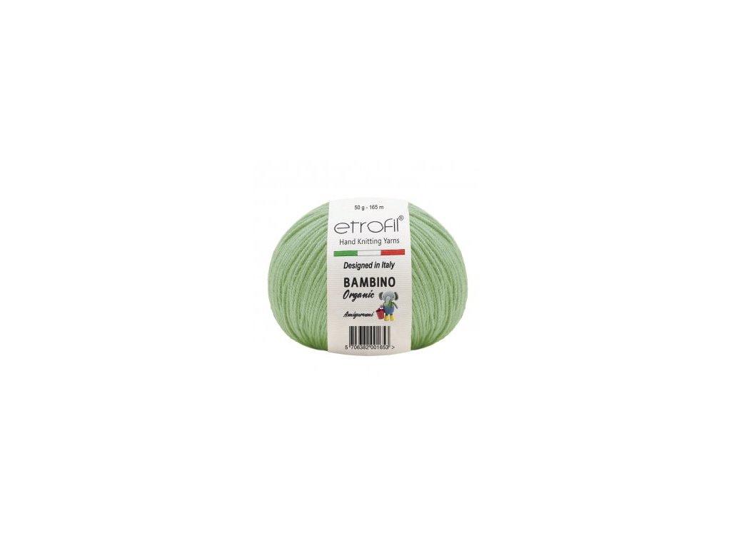 Bambino Organic nilská zelená 70402