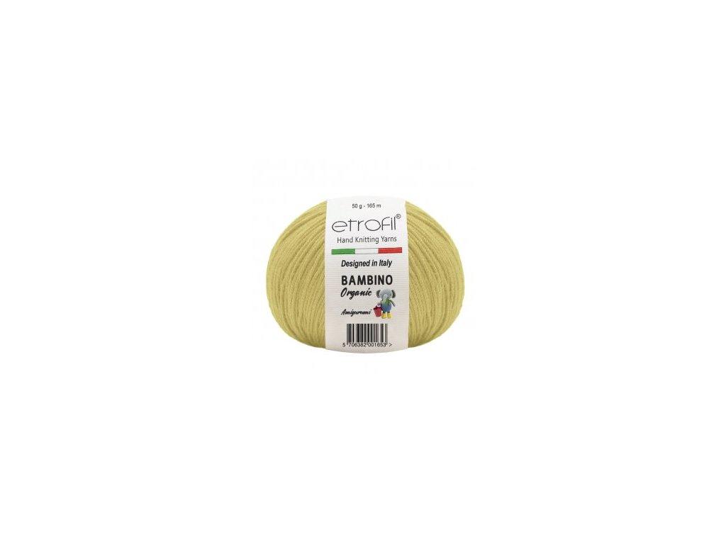 Bambino Organic světle žlutá 70205