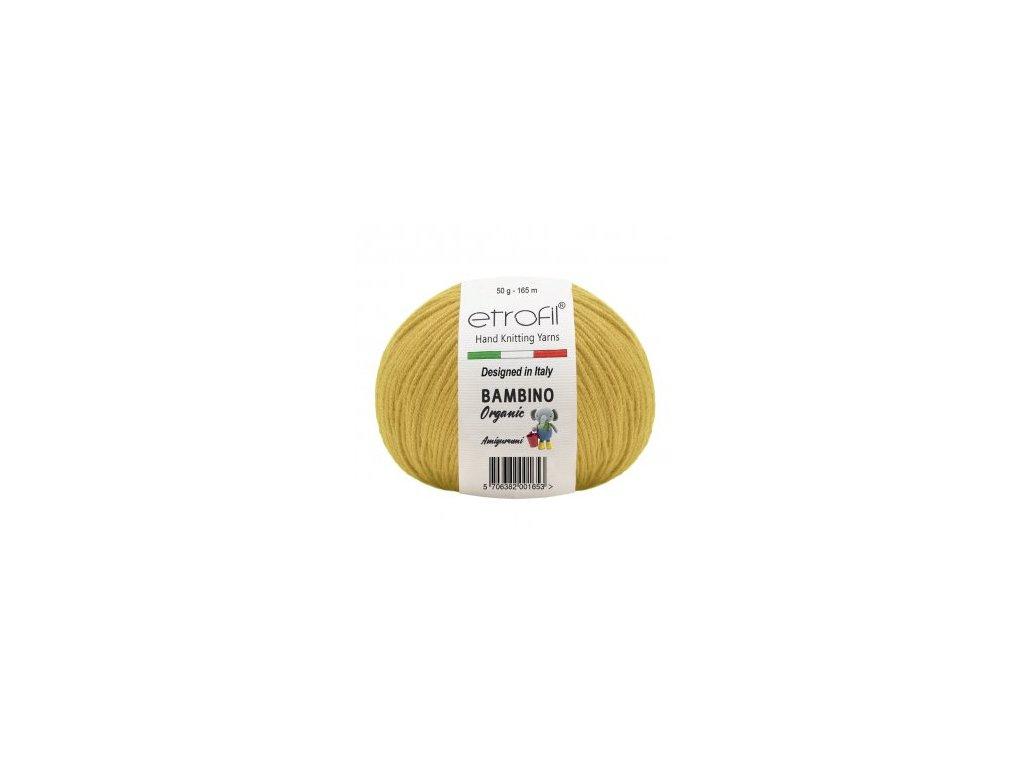 Bambino Organic žlutá 70204