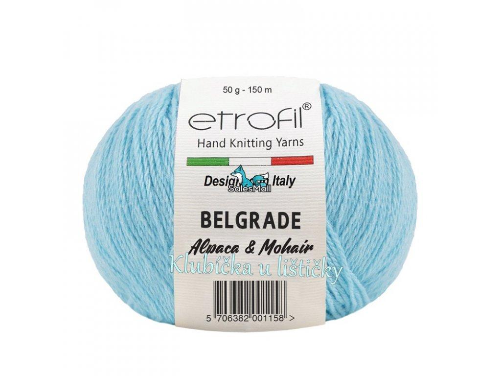 Etrofil Belgrade světle modrá BL1014