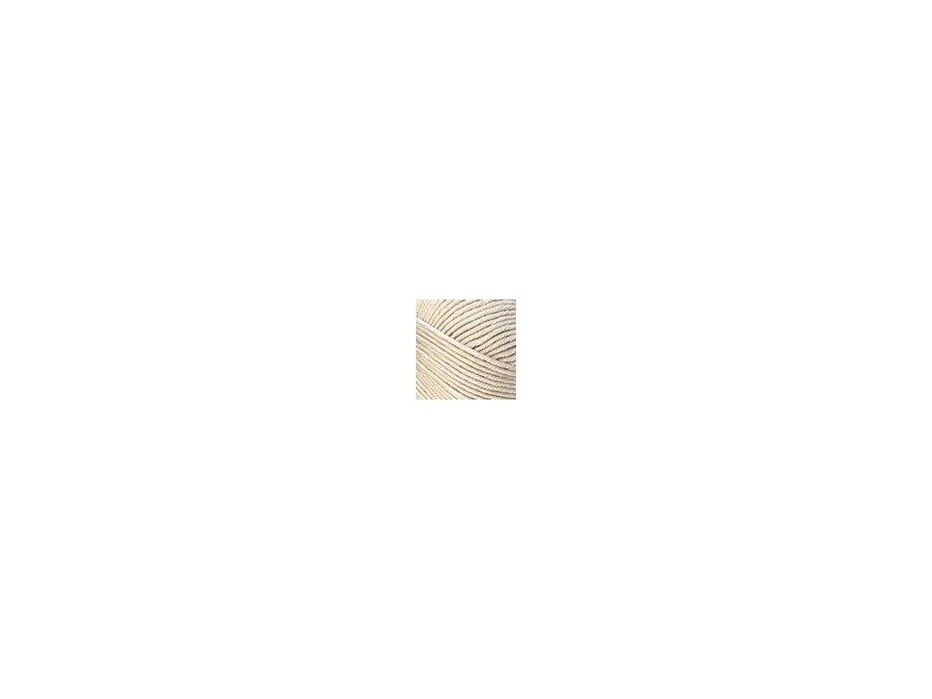 Příze Nako Saten 6383 - béžová