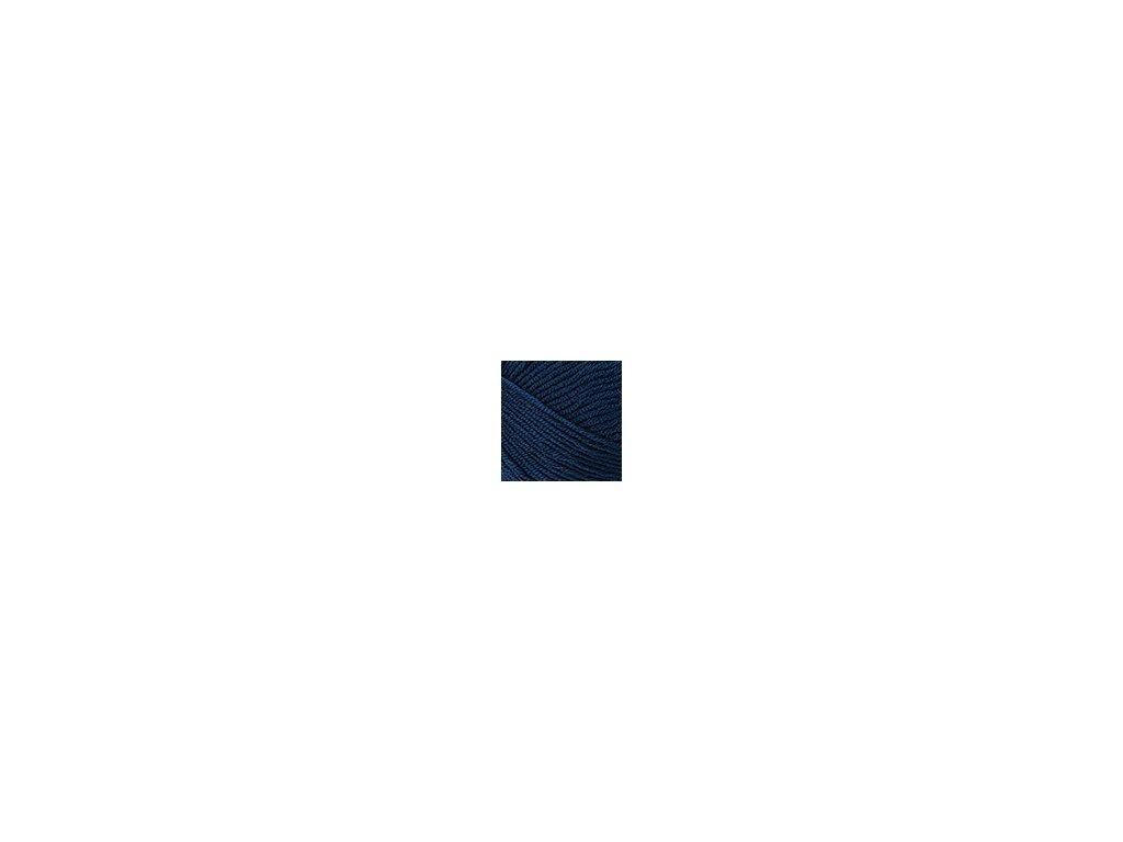 Příze Nako Saten 4253 - tmavě modrá