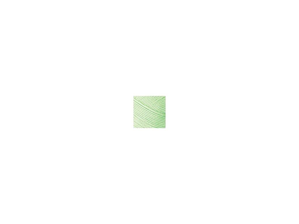 Příze Nako Saten 10154 - světle zelená