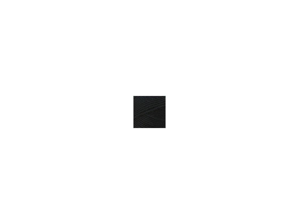 Příze Nako Saten 217 - černá