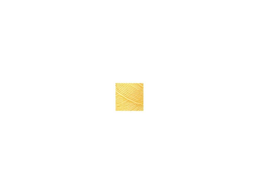Příze Nako Saten 215 - žlutá