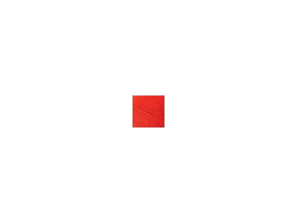 Příze Nako Saten 207 - červená