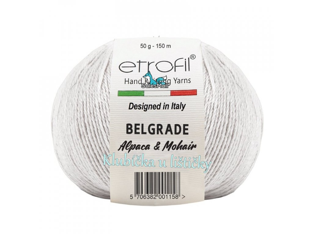 Etrofil Belgrade bílá 70027