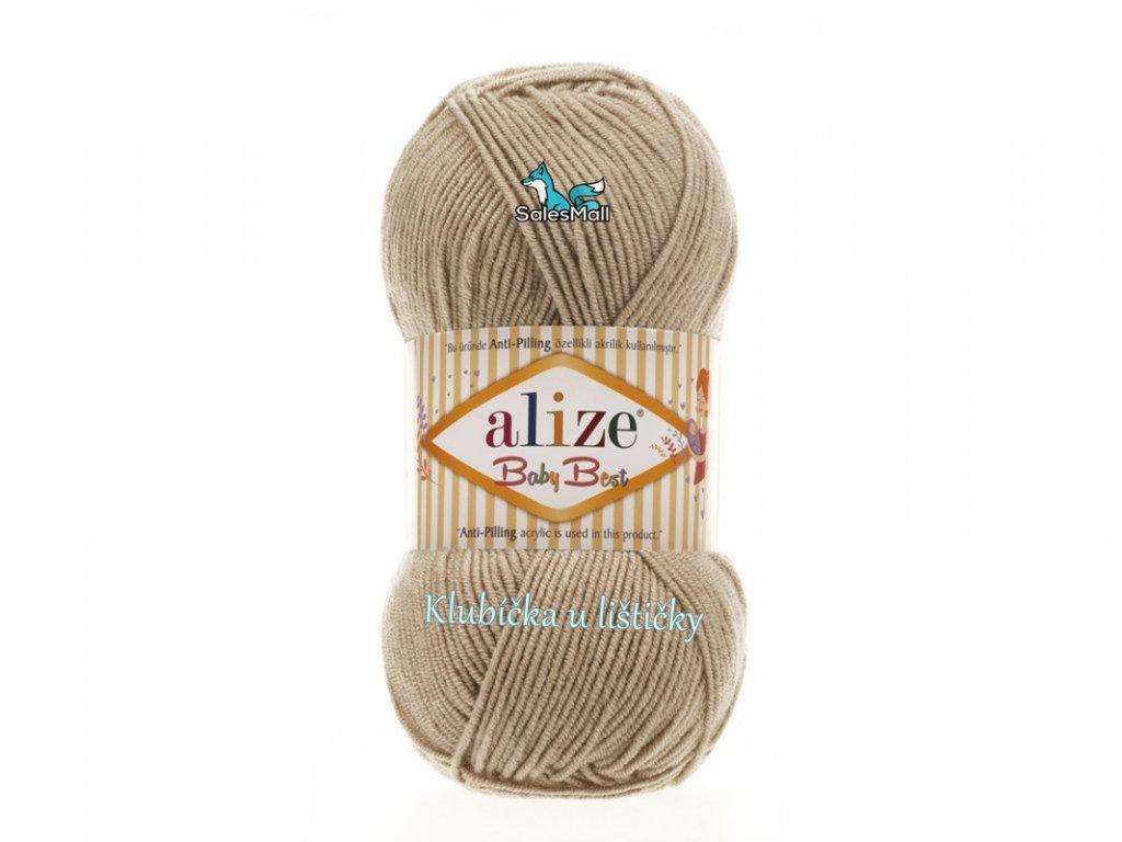 Alize Baby Best 256 - béžová