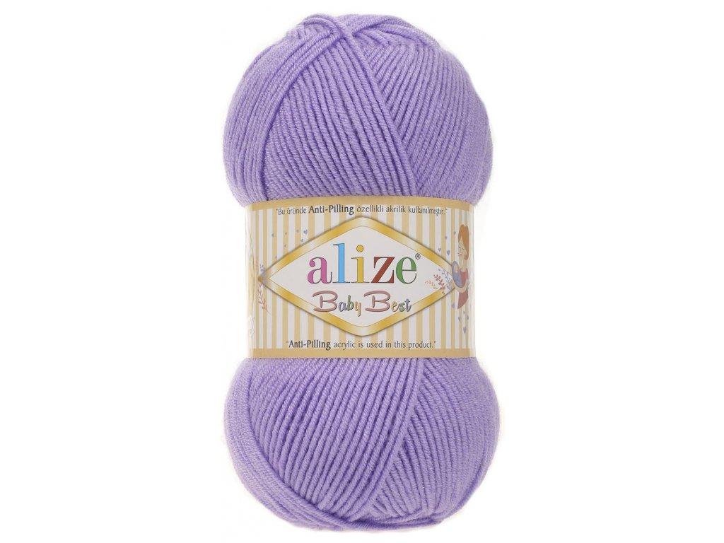 Alize Baby Best 43 -  levandulová