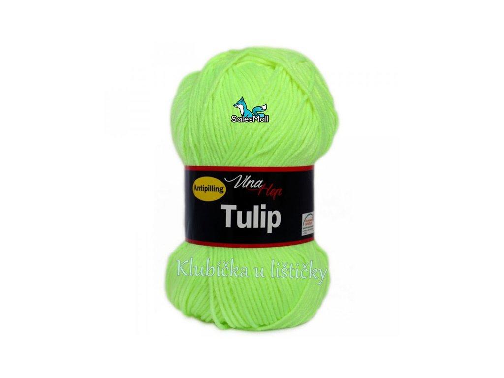 Vlna-Hep Tulip 4311-neonově žlutozelená