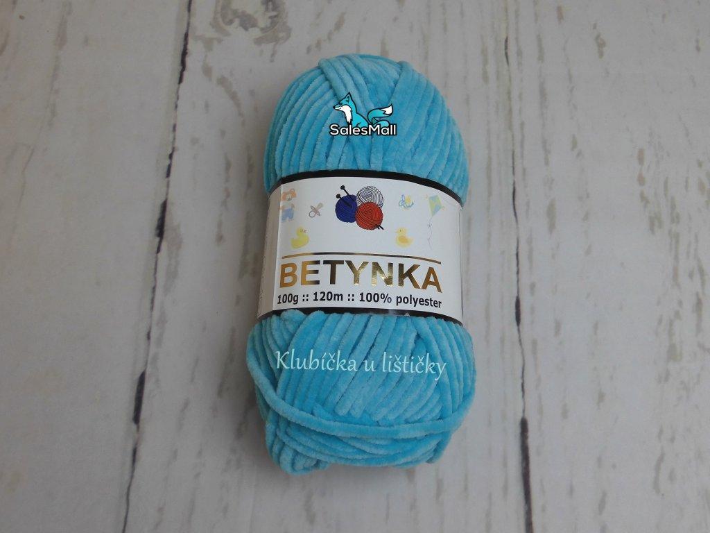 Příze Betynka  tyrkys - 335