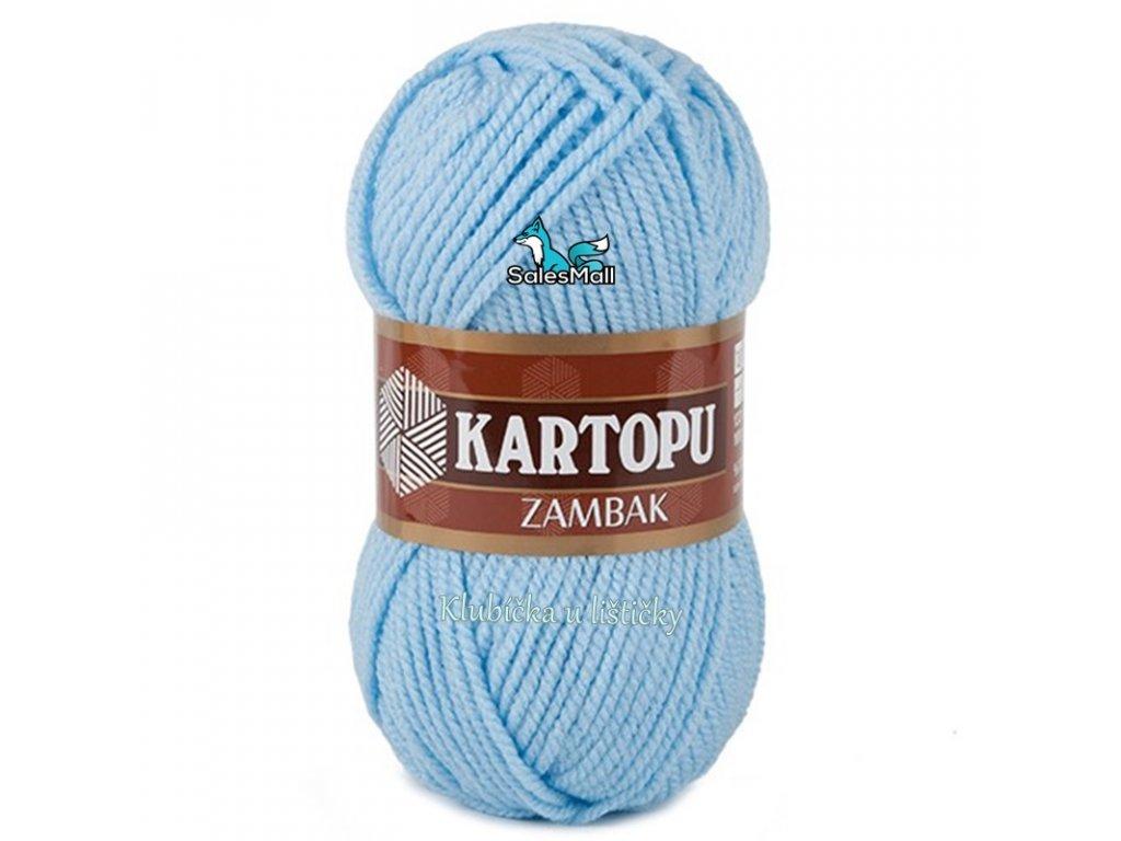 Příze Kartopu Zambak 540 - světle modrá