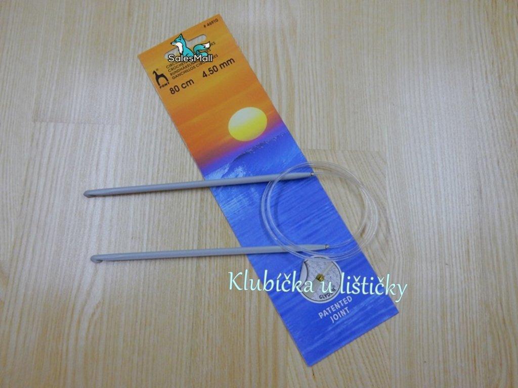 Háček dlouhý 80cm - 4,5mm