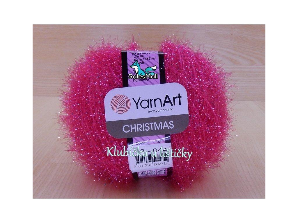YarnArt Christmas 33 - růžová
