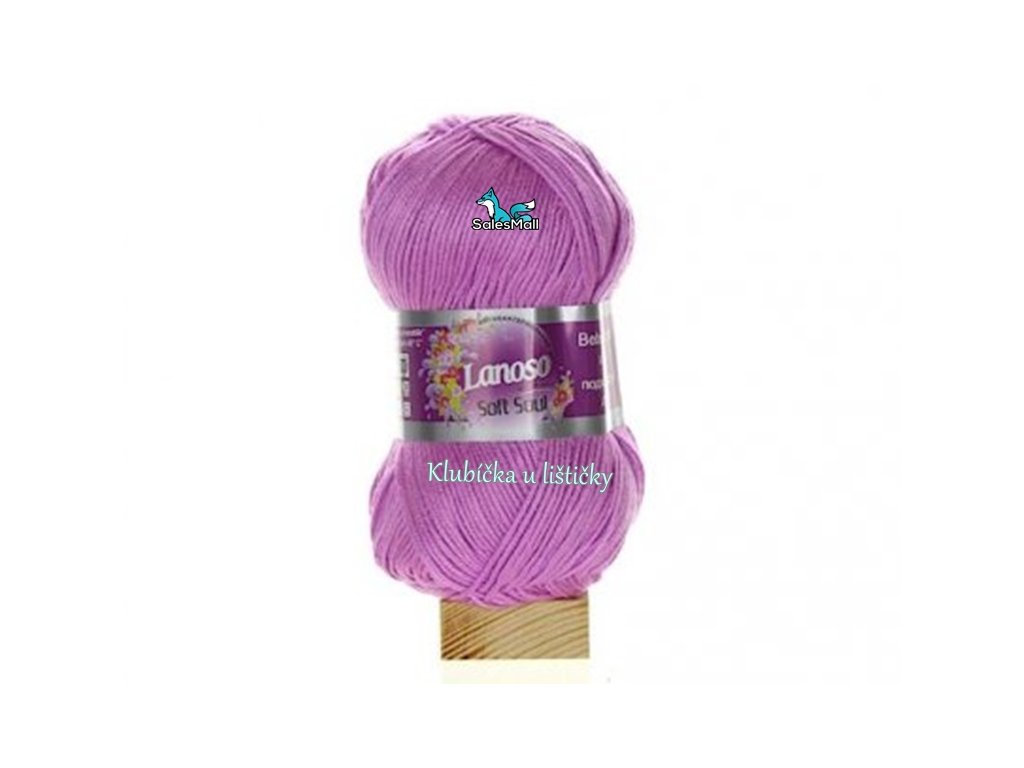 Lanoso Soft Soul 998 - růžovofialová