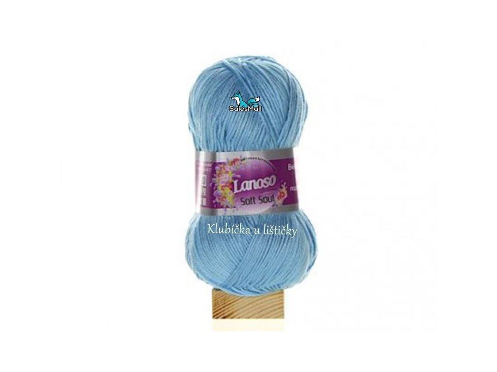 Lanoso Soft Soul 941 - světle modrá
