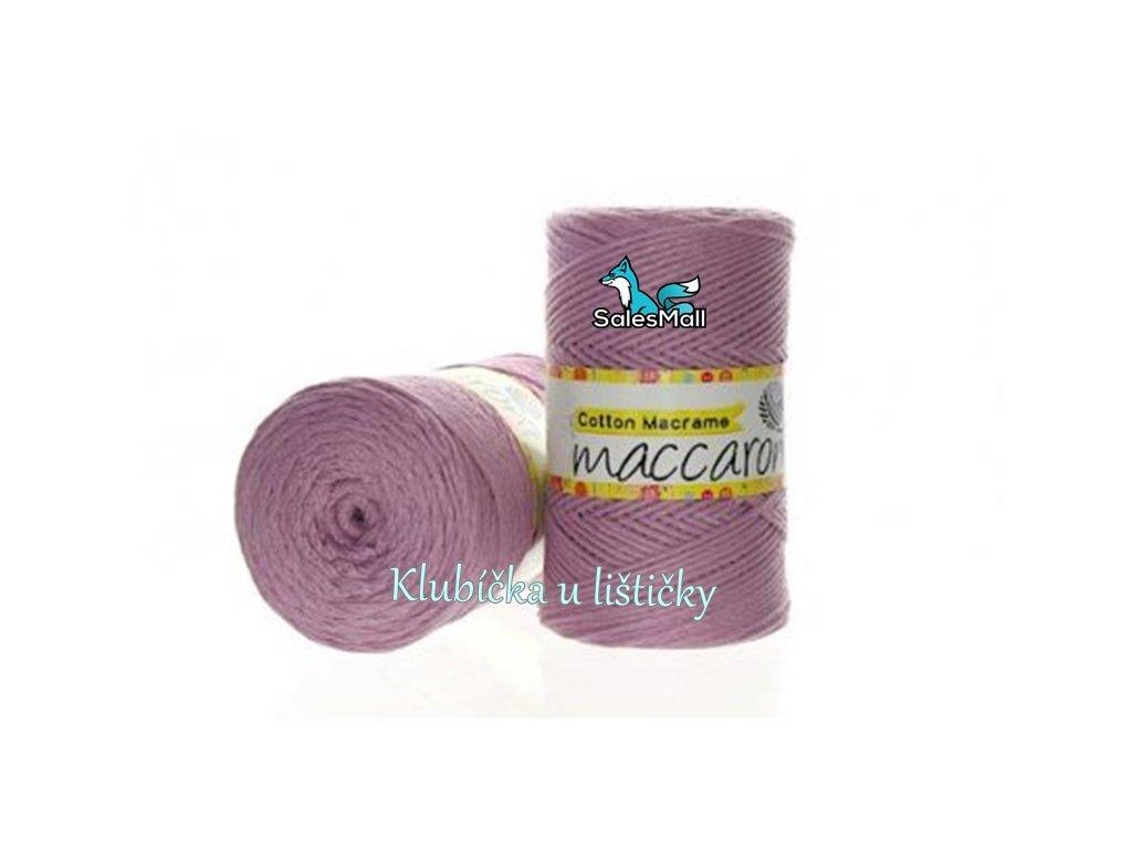 Cotton Macrame 26 - světle fialová