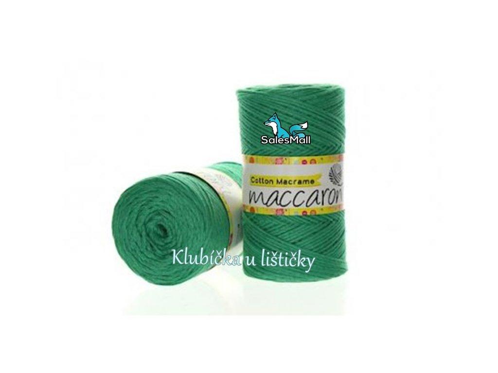 Cotton Macrame 22 - zelená