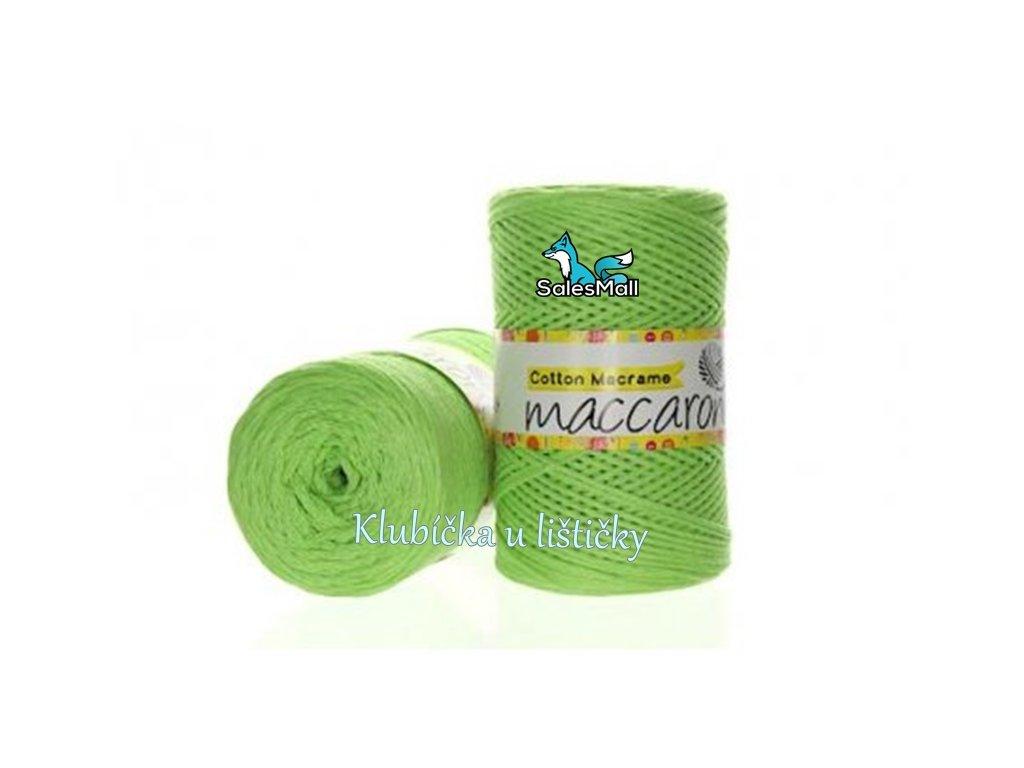 Cotton Macrame 20 - jarní zeleň