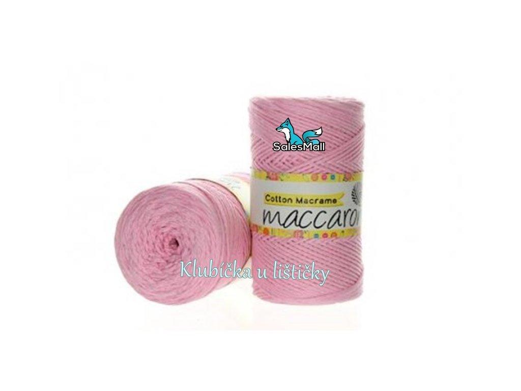 Cotton Macrame 04 - světle růžová