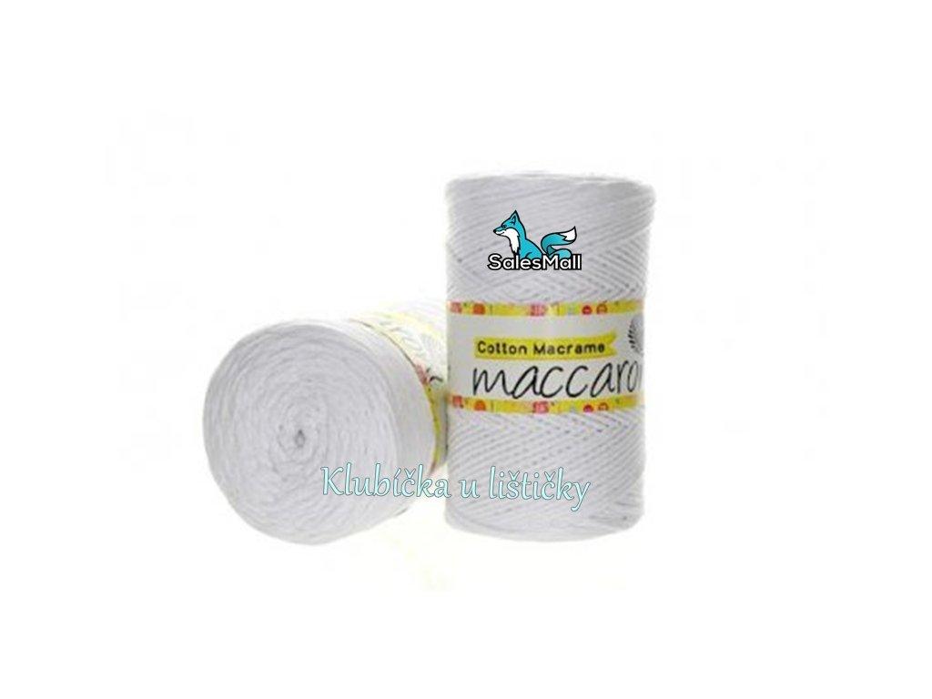 Cotton Macrame 02 - bílá