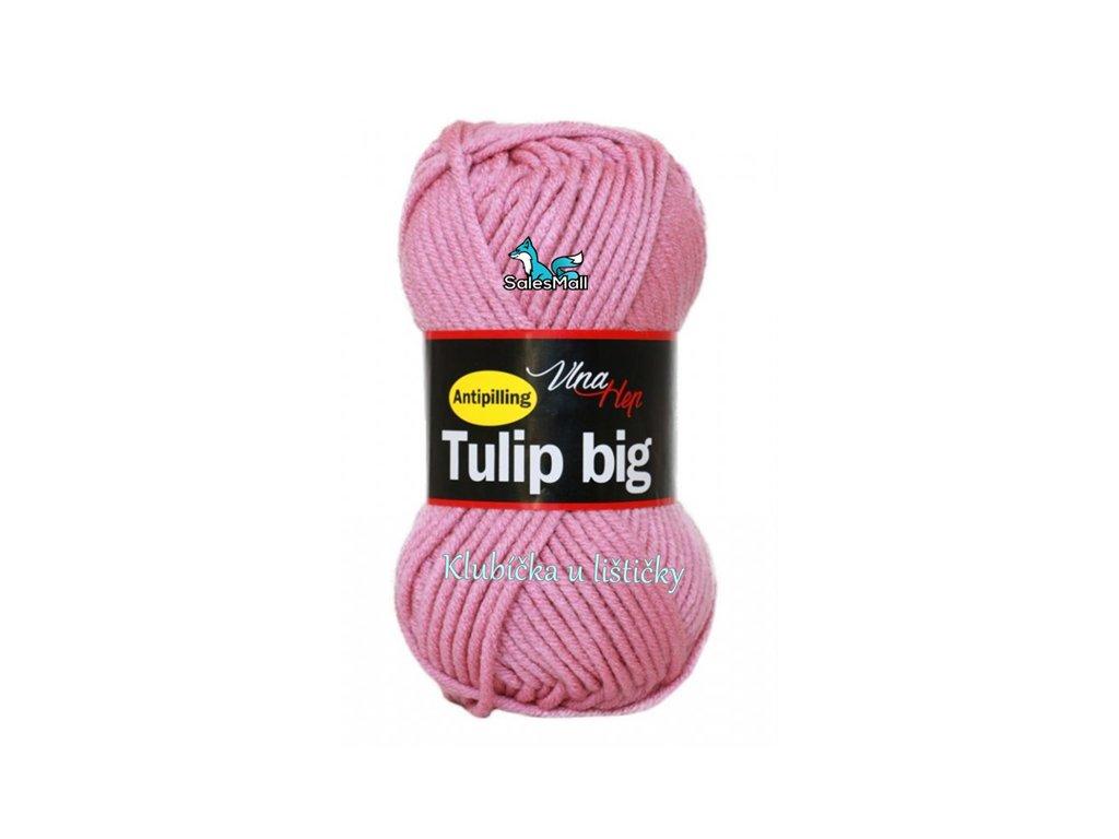 Vlna Hep Tulip Big 4404 - růžovo- fialová