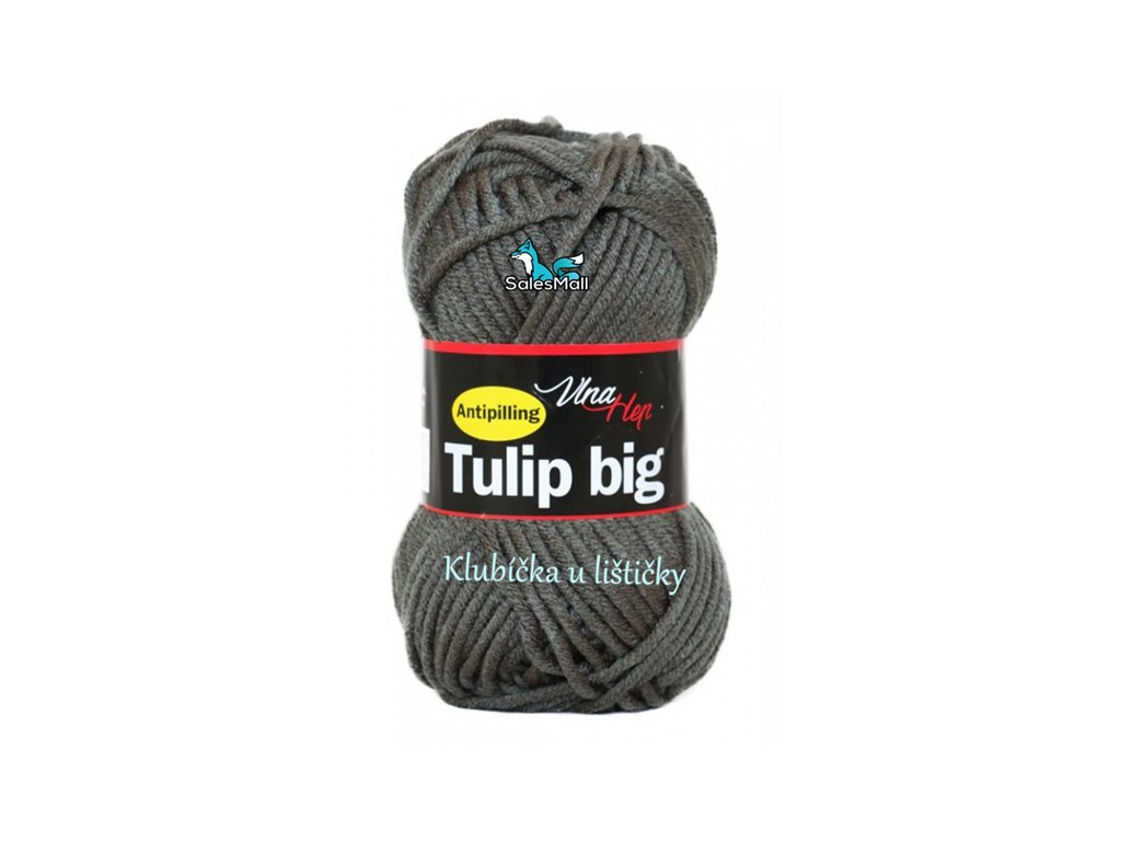 Vlna Hep Tulip Big 4236 - tmavě šedá