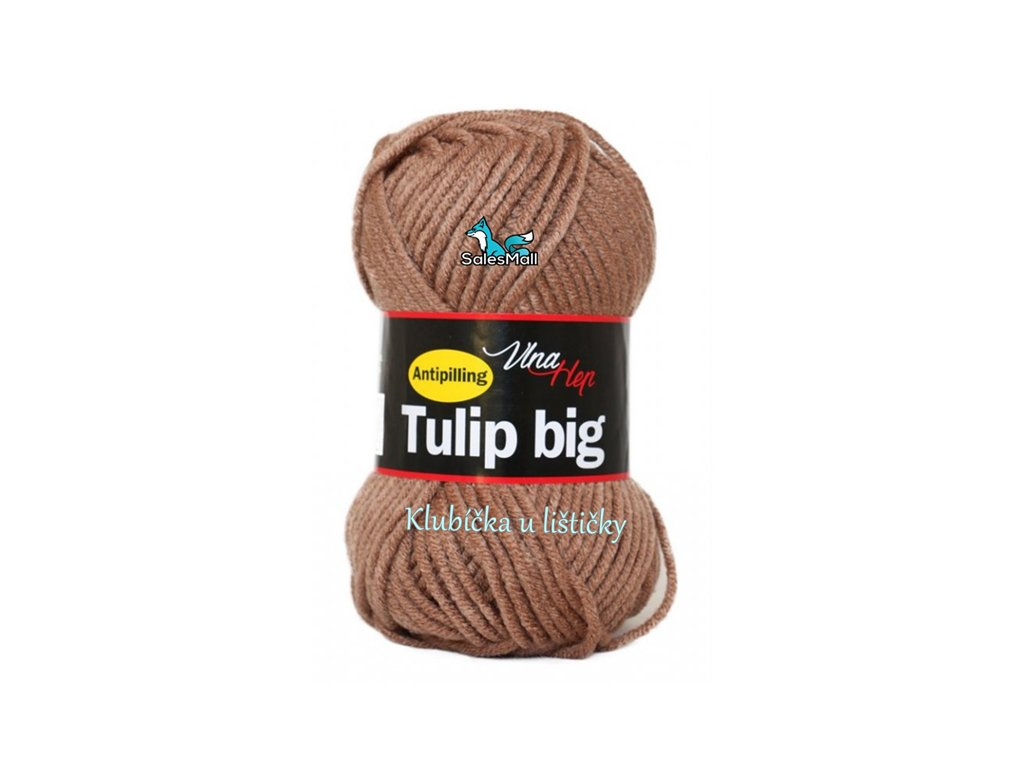 Vlna Hep Tulip Big 4223 - kávová