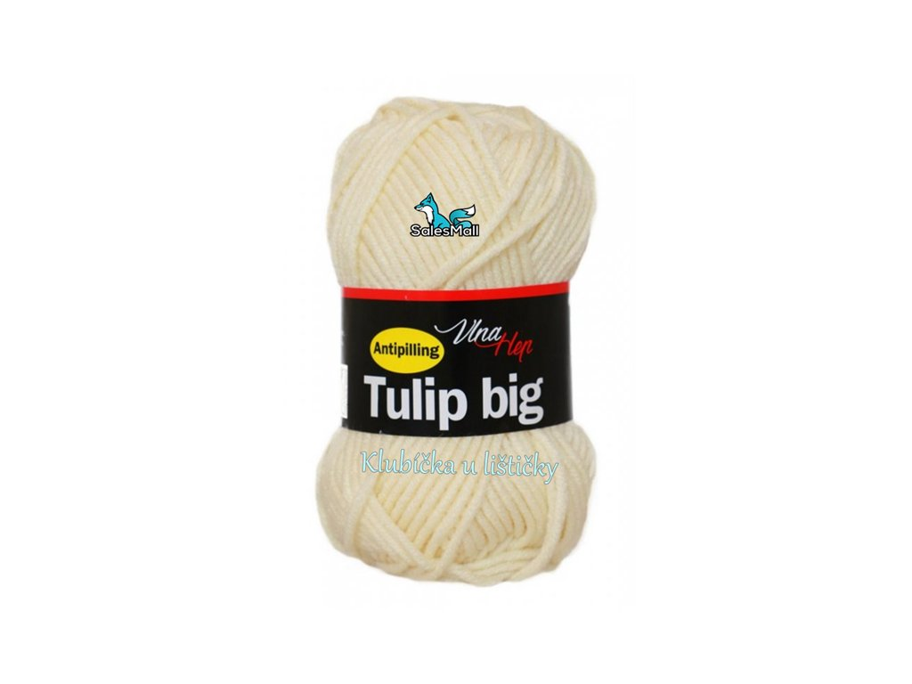 Vlna Hep Tulip Big 4172 - smetanová
