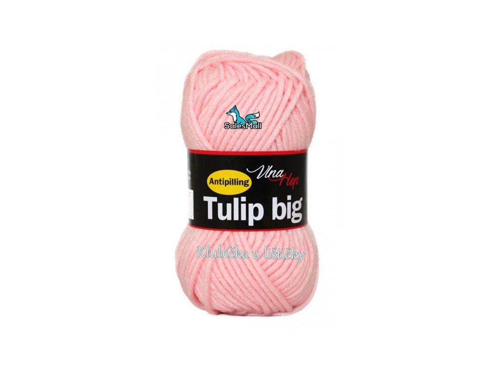 Vlna Hep Tulip Big 4026 - světle růžová