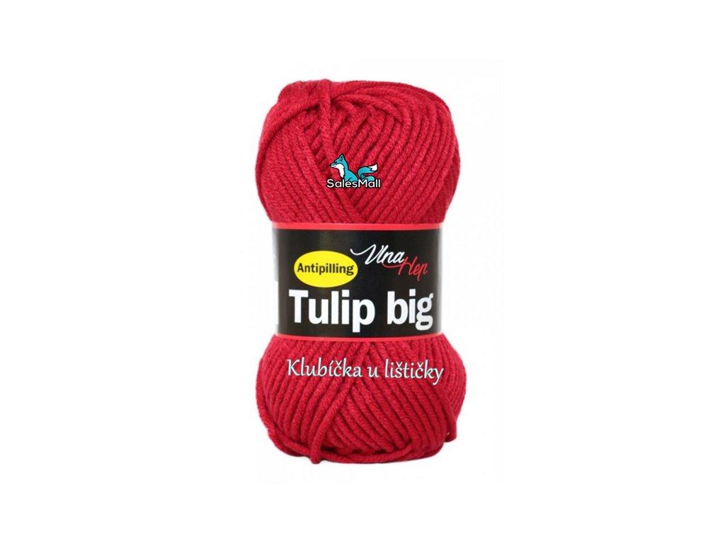 Vlna Hep Tulip Big 4019 - červená