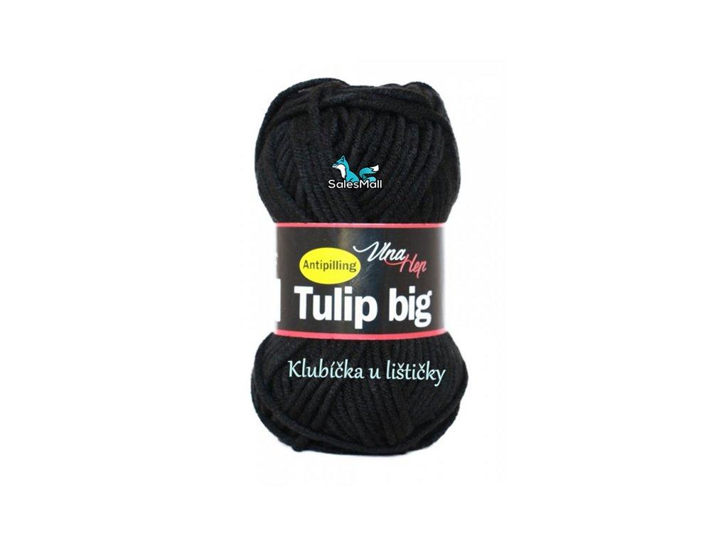 Vlna Hep příze Tulip Big 4001 - černá