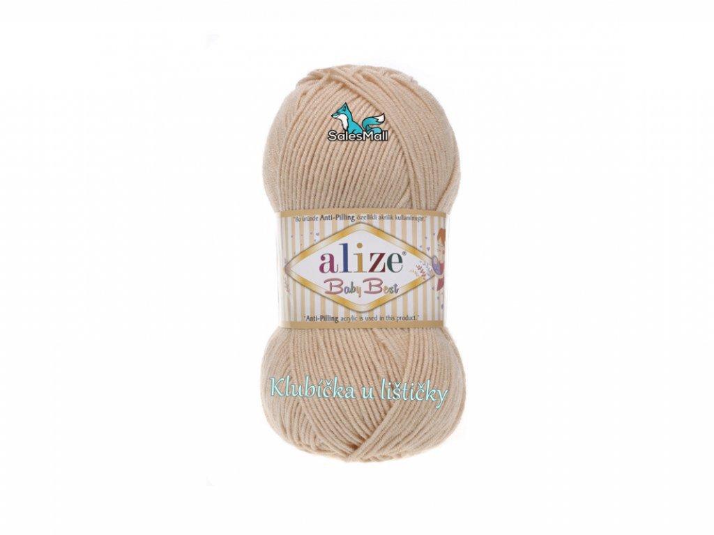 Alize Baby Best 382 - pudrová